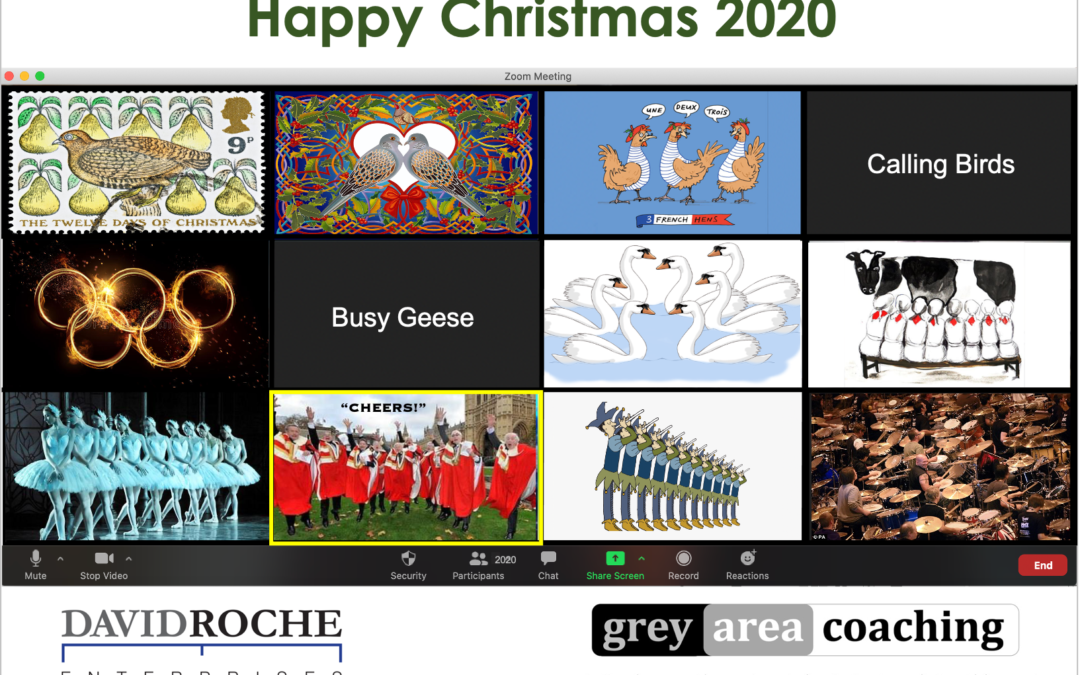 Happy Christmas from Grey Area Coaching