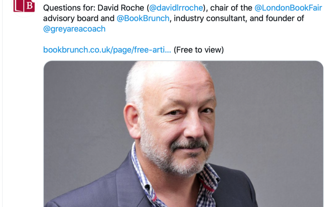 BookBrunch Q&A with David Roche
