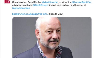 BookBrunch Q&A with David Roche
